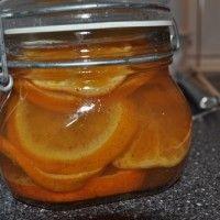 Syltede appelsiner og clementiner