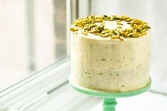 Zucchini adds a lovely moistness to this nutty spiced cake.