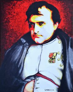 Napoleon Bonaparte Art Print Limited Edition Art Prints, personally inspected, numbered, approved and signed, with a Certificate of Authenticity.