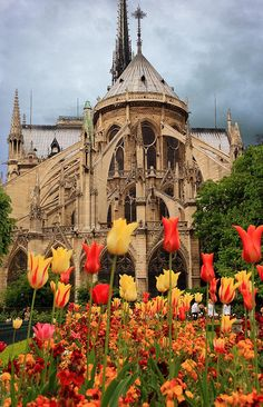 Notre-Dame de Paris back - France