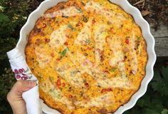Strouhaný Koláč z Dýně Hokkaido s Chilli Papričkami - Hana Štipák Perfect Cheesecake Recipe, Cheesecake Recipes, Squash, Quiche, Food And Drink, Low Carb, Pizza, Pumpkin, Meals