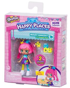 Amazon.com: Happy Places Shopkins Season 2 W2 Doll Single Pack Pia Puzzle: Toys & Games