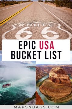 Check out the top 50 places to visit in the United States you haven't thought yet. Including lots of road trips, beautiful beaches, pulsating cities, adventures with kids, and romantic couple weekend getaways. Lots of ideas for your bucket lists. Us Travel Destinations, Amazing Destinations, Places To Travel, Road Trip Usa, West Coast Road Trip, Travel List, Usa Travel, Italy Travel, Shopping Travel