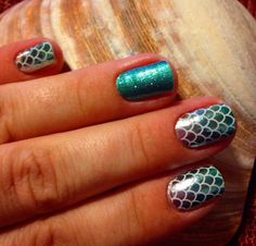 New Spring Jamberry nail wraps - Mermaid Tails and Jaded. Click the image to shop the entire Jamberry collection. http://melissamccormick.jamberrynails.net