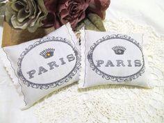 Vintage French Inspired Paris Lavender Sachet by auntiesjammies, $30.00