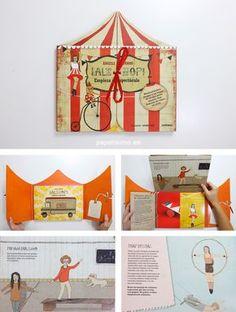 alehop-libros-para-ninos-circo Holiday Decor, Books, Crafts, Craft Ideas, Journal, Diy, Ideas Party, Paper, Children's Books