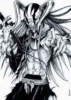 Ichigo hollow - bleach anime dibujos, dibujos de anime и cómics anime. Anime Bleach, Bleach Fanart, Bleach Movie, Manga Anime, Fanarts Anime, Manga Art, Manga Drawing, Bleach Characters, Manga Characters
