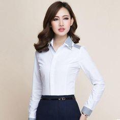Fashion women long sleeve shirt 2018 New slim elegant blouses shirts l – rricdress