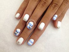 #Instanails #nailart #handpainted #freehand www.sweetynailsny.com Nail Design by Sunny