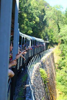 A la découverte de l'Ardèche Verte et des gorges du Doux avec le Mastrou, train à vapeur !