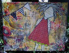 GOT ART?: Banner Day Canvas Collage
