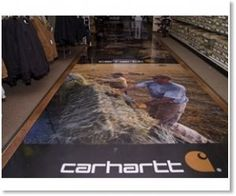 Floor graphics is another form of digital signage and has it's place in specific venues.