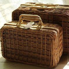 retro #rattan wicker box ⭕254K⭕ #uniqueitems_store2... | Wicker Blog  wickerparadise.com