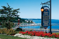 Petoskey, Michigan. Spent one whole day of every summer here with my parents.  Some of my greatest memories.