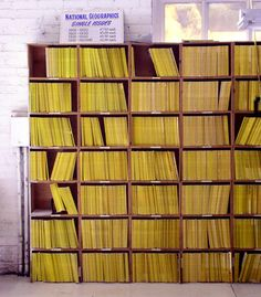 """National Geographic collection I would LOVE to have. I maybe half one shelf""""s worth already."""