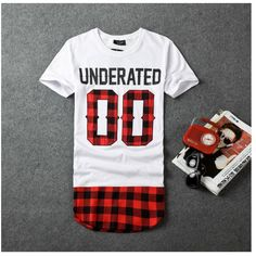 Men s Underated Bandana Extended T-Shirt - 3 Styles 2b0f78a1335