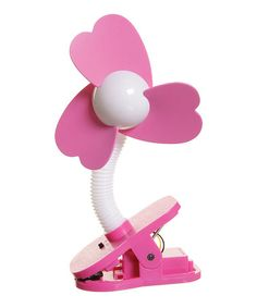 Look what I found on #zulily! Pink Clip-On Fan by Dreambaby #zulilyfinds