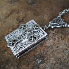Holy Crucifix Locket Exclusive Design by by EnchantedLockets