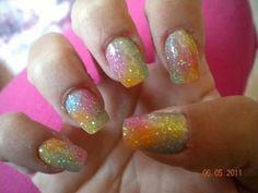 Unghie glitter