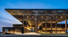 International Congress Centre in Dakar. A project by Tabanlioglu Architects from Turkey - Attitude Interior Design Magazine