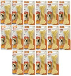 Nylabone Dura Chew Textured Chicken Souper 16 pk >>> Continue to the product at the image link. (This is an affiliate link and I receive a commission for the sales) Dog Snacks, Dog Care, Mini Cupcakes, Image Link, Treats, Texture, Chicken, Sweet Like Candy, Surface Finish