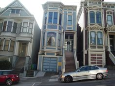 look at all the Painted Ladies (San Francisco Ca)
