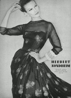 Mary Jane Russell in Herbert Sondheim, 1957