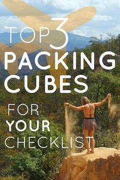 If you want to pack light, packing cubes are essential. Otherwise you& have to endure the struggle of making everything fit - every single time you pack your Best Packing Cubes, Packing Tips, Travel Ideas, Travel Tips, Best Travel Accessories, Pack Light, Pack Your Bags, Travel Checklist, What To Pack