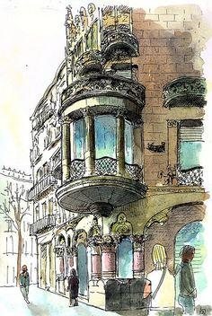 Casa Lleó Morera- Barcelona | Josep Ramon Roy | Flickr