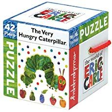 The World of Eric Carle The Very Hungry Caterpillar Cube Puzzle pc): Mudpuppy Eric Carle Caterpillar 42 Piece Puzzle Cube Puzzle, Puzzle Pieces, Very Hungry Caterpillar Printables, Floor Puzzle, Thing 1, Interactive Learning, Eric Carle, Puzzles For Kids, The Book