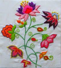 Resultado de imagem para risco para bordar flores