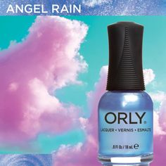 Angel Rain from #ORLYSurreal. Available now at http://www.orlybeauty.com/nail-color/nail-color-by-collection/surreal-5.html