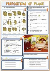 giving directions, prepositions of place, places in a town worksheet - Free ESL printable worksheets made by teachers Grammar And Vocabulary, Grammar Worksheets, Printable Worksheets, Give Directions, Teaching Jobs, Prepositions, Writing Skills, Teaching English, Giving