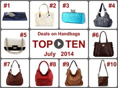TOP 10 Amazing Deals on Handbags (July 2014). Learn more -- https://www.facebook.com/AmazingDailyDealsSite