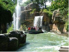 Thunder Canyon Cedar Point   Raft Ride