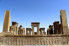 Visit Persepolis, northeast of Shiraz, Iran