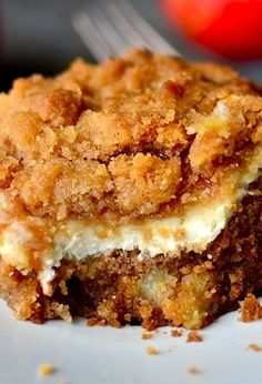 Cream Cheese Apple Coffee Cake (convert to WF)
