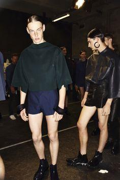Juun.J SS14 Men Fashion Show Paris Backstage