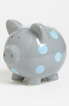 Save For College - Medium Term The piggy bank represents saving for college. I set away money with every paycheck I get to save for college.