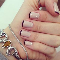 Beautiful Nail Art Ideas You Have To Try - Page 11 of 44 - Nail Stylish Love Nails, How To Do Nails, Pretty Nails, Fun Nails, Nail Art Vernis, Manicure And Pedicure, Pedicures, Perfect Nails, Nail Arts
