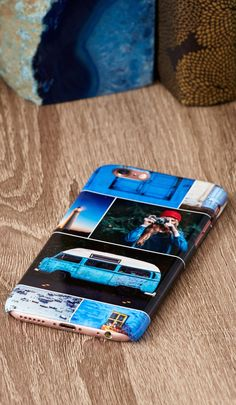 A custom phone case is a gift that they will use everyday. Let them stand out from the crowd with an iPhone or Galaxy phone case with their favorite photos. Save up to 38%.