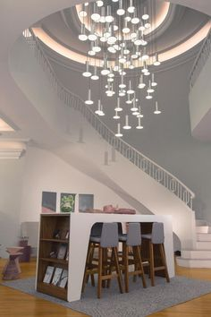 (1) Pablo Designs Cielo Chandelier 13 Interior Lighting, Home Lighting, Modern Lighting, Modern Entryway, Chandelier Bedroom, Cutting Tables, Hotel Lobby, Dollhouse Furniture, Bedroom Decor