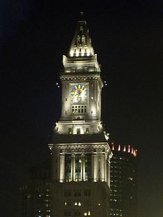 Custom House Tower - Boston.  I was not expecting this as my Marriott.  Cool!