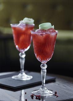 Odyssey Number 10. Award winning cocktail made by Curfew Cocktail Bar, Copenhagen.