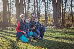 Family fall photography Christmas