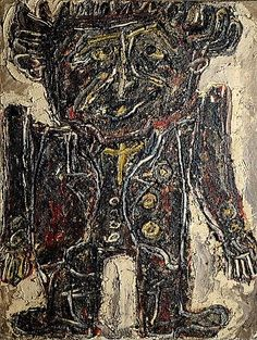 Georges Limbour Roi Mexicain, 1946  Dubuffet