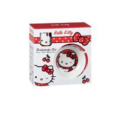 #Frühstücksset Hello Kitty 3tlg. Porzellan #Weihnachten #Geschenkideen #Für Kinder