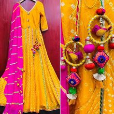 Check some colorful and beautiful latkan for wedding lehenga to make it look more elegent. These latkan designs includes Tassel, beaded and many more. Indian Dress Up, Saree Tassels Designs, Best Blouse Designs, Back Neck Designs, Indian Designer Outfits, Textiles, Fabric Jewelry, Bridal Outfits, Blouse Patterns