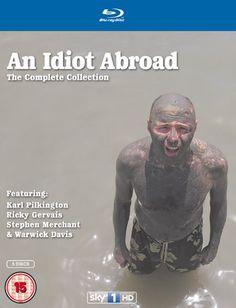 Karl Pilkington: An Idiot Abroad - Series 1 - 3 Box Set Discs) (Blu-ray) Warwick Davis, Karl Pilkington, Top Tv Shows, Ricky Gervais, Film Watch, Dvd Blu Ray, Tk Maxx, Resident Evil, Documentaries