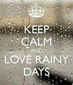 Love rainy days ♥